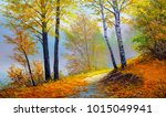 Autumn Forest Near The River ...