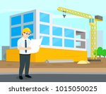 construction and building.... | Shutterstock .eps vector #1015050025