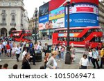 london  uk   july 9  2016 ... | Shutterstock . vector #1015069471