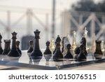 chess set background