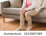 old age  health problem and... | Shutterstock . vector #1015087489