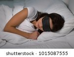 people  bedtime and rest... | Shutterstock . vector #1015087555