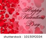 st. valentine's day abstract... | Shutterstock .eps vector #1015092034