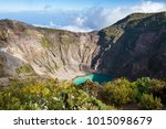 hike to irazu volcano in... | Shutterstock . vector #1015098679