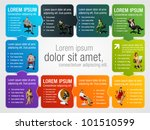 colorful template for... | Shutterstock .eps vector #101510599