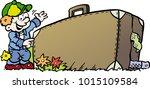 cartoon vector illustration of... | Shutterstock .eps vector #1015109584