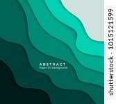 3d abstract background with... | Shutterstock .eps vector #1015121599