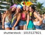 rio de janeiro   february 11 ... | Shutterstock . vector #1015127821