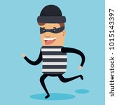 theft identity avatar character | Shutterstock .eps vector #1015143397