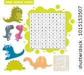 logic game for learning english.... | Shutterstock .eps vector #1015153507