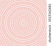geometric modern vector pink... | Shutterstock .eps vector #1015162681