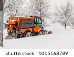 road cleaning after huge... | Shutterstock . vector #1015168789