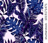 watercolor seamless pattern...   Shutterstock .eps vector #1015171471