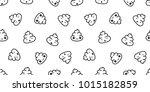 poo seamless pattern cartoon... | Shutterstock .eps vector #1015182859