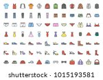 clothes colored icon | Shutterstock .eps vector #1015193581