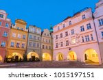 old town in jelenia gora in...   Shutterstock . vector #1015197151