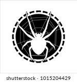 spider logo araneus | Shutterstock .eps vector #1015204429