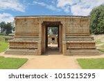 entrance to the prasanna... | Shutterstock . vector #1015215295