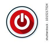 start power button illustration | Shutterstock .eps vector #1015217524