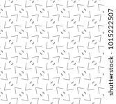 seamless geometric ornamental... | Shutterstock .eps vector #1015222507