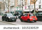 paris  france   jan 30  2018 ... | Shutterstock . vector #1015230529