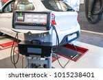 car diagnostic   exhaust gas... | Shutterstock . vector #1015238401