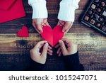 valentine's day chocolate | Shutterstock . vector #1015247071
