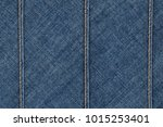 denim jeans texture. blue jeans ... | Shutterstock . vector #1015253401