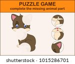 complete the puzzle and find... | Shutterstock .eps vector #1015286701