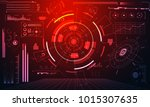abstract technology ui... | Shutterstock .eps vector #1015307635
