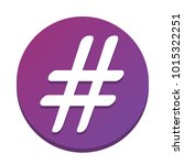 hashtag sign illustration.... | Shutterstock .eps vector #1015322251