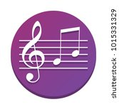 music violin clef sign. g clef...   Shutterstock .eps vector #1015331329