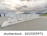 jan 27  2018 subic bay sign at...   Shutterstock . vector #1015355971