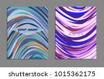 minimal covers design. bright... | Shutterstock .eps vector #1015362175
