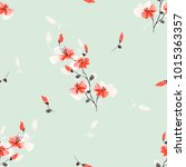 Seamless Pattern Small Wild Re...