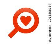 search love symbol vector...   Shutterstock .eps vector #1015368184