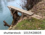 Homemade River Diving Board...