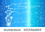 abstract background technology... | Shutterstock .eps vector #1015466845