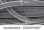 aerial view of highway and... | Shutterstock . vector #1015474657