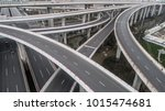 aerial view of highway and... | Shutterstock . vector #1015474681