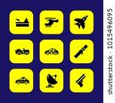 military vector icon set. gun ...   Shutterstock .eps vector #1015496095