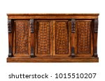 old english mahogany antique... | Shutterstock . vector #1015510207