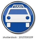 sign taxi  vehicle and... | Shutterstock . vector #1015530109