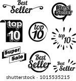 best seller  business icon ... | Shutterstock .eps vector #1015535215