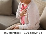 old age  health problem and... | Shutterstock . vector #1015552435