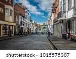 guildford  surrey  uk  january...   Shutterstock . vector #1015575307