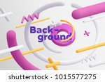 vector background with bright... | Shutterstock .eps vector #1015577275