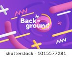 vector background with bright... | Shutterstock .eps vector #1015577281