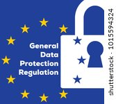 privacy policy general data...   Shutterstock .eps vector #1015594324