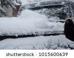 cleaning the trunk of the car... | Shutterstock . vector #1015600639